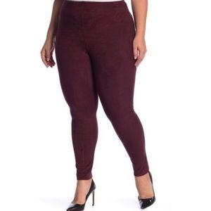 Lysse Red/Maroon High Waist Legging 262